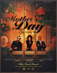 Mother's Day Church Flyer Template By Seraphimchris On Deviantart