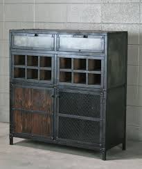 modern industrial design furniture. industrial liquor cabinet bar cart with wine storage handmade and customizable modern design furniture