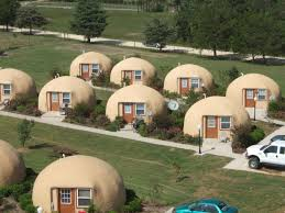 enochliew: The Inn Place by Kevin McGuckin Concrete domes are strong,  highly resistant to damage by earthquake, lightning, hurricane, and wind.