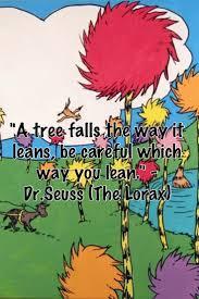 A Tree Falls The Way It