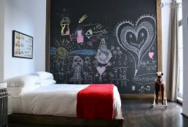 small bedroom wall color ideas for kids with extra large blackboard