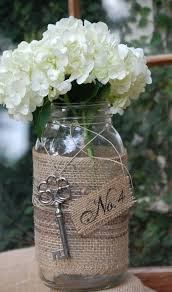 Decorating With Mason Jars And Burlap 100 Best Key Theme Images On Pinterest Groom Attire Wedding 51