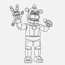 Ambitious Five Nights At Freddys Free Printables Paigehohlt