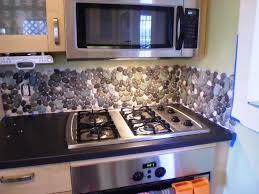 image of unusual kitchen backsplash design