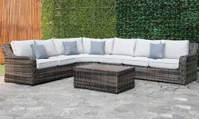 tortola outdoor sectional cocktail table set