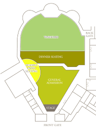Mountain Winery Seating Chart Venue Seating Map Robert Mondavi