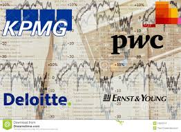 Big4 Accounting Firms Editorial Stock Image Image Of Kpmg 21842074