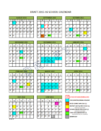 School Calendar 2015 16 Printable School Calendar Steering Group North Vancouver School District