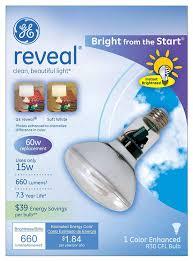 Energy Smart Flood Lights Ge Lighting 90807 Reveal Energy Smart Bright From The Start