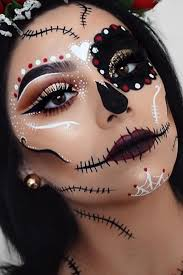 day of the dead dark makeup