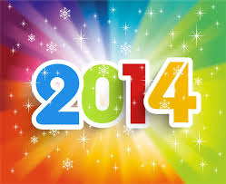 happy new year 2014.  New Happy New Year 2014 Colorful Background Vector Illustration In