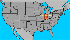States Definitely States Personality A Indiana Usa Is South United Map Part My Of Capitals Debate