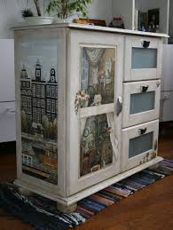 decoupage ideas for furniture. hand painted with decoupaged poster decoupage ideas for furniture h