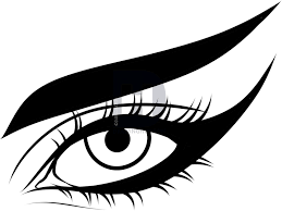 description before coloring in your eye be sure to clean up the mistakes good job folks before coloring in your eye be sure to clean up the mistakes