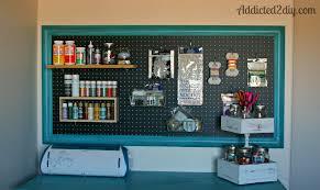 Dining Pegboard Craft Room Pegboard Organization Addicted Diy in Craft Room  Ideas