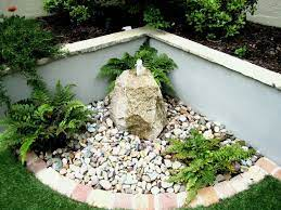 simple stone garden design ideas