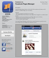 where to facebook pages manager itunes iphone facebook facebook for business
