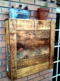 diy pallet patio bar. Pallet Outdoor Wall Mounted Bar Diy Patio W
