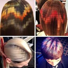 Hair Patterns Custom hair dye patterns prettysweaty
