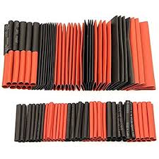 Cable Sleeving Kit - 127pcs Assorted Heat <b>Shrink</b> Tubing Tube <b>Set</b> ...