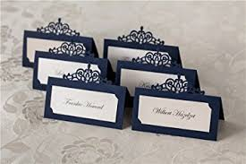 617fv6dRPJL._SX355_ laser cut navy blue name place card for wedding (24pcs) amazon on navy place cards wedding