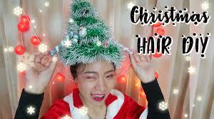 ทำผมครสตมาสเองงายๆ มอใหมกทำได Christmas Hairstyles