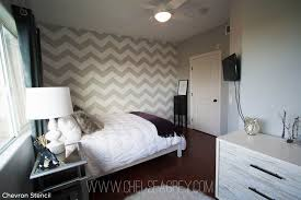 Nice Chevron Bedroom Decor