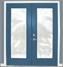 etching glass doors heron hideaway etched glass 2 door scene clean etched glass shower doors