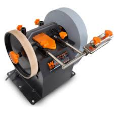 wen 2 direction water cooled wet dry sharpening system leather stropping wheel