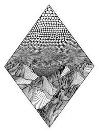 So basically i have an uiview with a subview consisting in the river image i have found and a dot made with uibezierpath. Christa Rijneveld Creates Pen And Ink Line Drawings Of Mountains