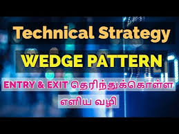 Technical Strategy Wedge Chart Pattern Mcx Nse Tamil Share Chart Cta