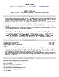 Occupational Health And Safety Resume Examples Best of Click Here To Download This Electrician Resume Template Httpwww