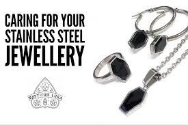 snless steel jewellery is pretty easy to clean simply follow these steps