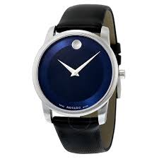 movado watches jomashop movado museum blue dial stainless steel men s watch