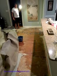 waking up to a flooded kitchen familyroom sand and sisal water seeping through basement