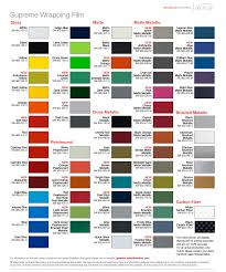 Avery 900 Supercast Colour Chart Wrap N Graphics Vinyl Color Chart Factual Avery Vinyl Color