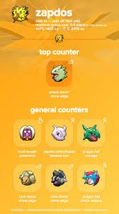 Zapdos Pokemon Go Iv Chart Pokemon Go Zapdos Raid Boss Max Cp Moves Spawn Location