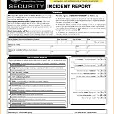 Incident Report Example It Security Incident Report Template Data Security Incident Report 13