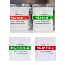 20 Pcs Ph Buffer Solution Powder Ph For Test Meter Measure