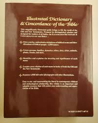 The Illustrated Dictionary And Concordance Of The Bible By Readers Digest Editors 1992 Hardcover