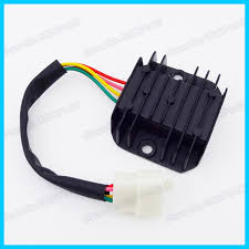 popular voltage regulator wiring buy cheap voltage regulator 4 wire male plug voltage regulator rectifier for gy6 moped scooter motorcycle atv quad dirt bike