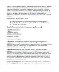 Employee Termination Letter Format Pdf. Employee Termination Letter ...