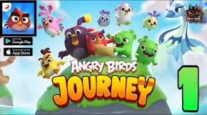 Angry Birds Journey-Gameplay Walkthrough Part-1 (Android / IOS) - YouTube
