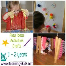 Play Ideas, Activities and Crafts – Play by Age | Learning 4 Kids
