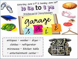 Garage Sale Flyer Template Free Beautiful Free Printable Garage Sale
