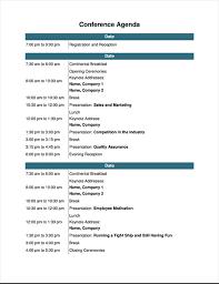 Conference Program Template Rome Fontanacountryinn Com