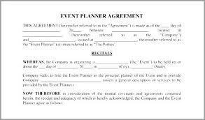 Event Planning Services Agreement Event Planning Questionnaire Template Event Planning