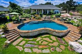Beautiful Backyard Pools Model Impressive Inspiration Ideas