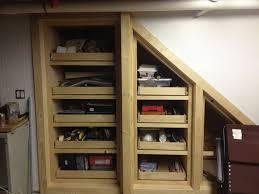 basement stairs storage. Basement Stairs Storage Under By Woodwrestler @ LumberJocks  Com Basement Stairs Storage I