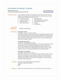 Civil Engineer Resume Format Free Download Lovely Environmental